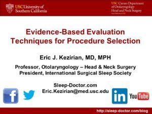 Sleep Apnea Surgery Procedure Selection 300x225 - Sleep 2017: Upper Airway Stimulation 5-year Outcomes and Questioning Whether Sleep Apnea Treatment Improves Health
